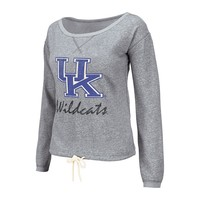 Colosseum Kentucky Wildcats Heritage French Terry Sweatshirt - Women's