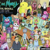 Rick and Morty: Total Rickall Cooperative Card Game
