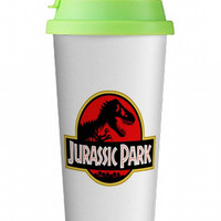 Jurassic Park Double wall mug, Custom Double wall mug, Custom Double wall cup