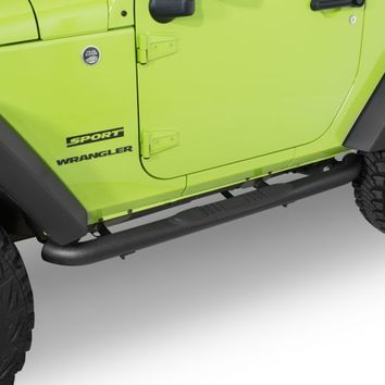 Quadratec QR3 Heavy Duty Side Steps | Jeep Parts and Accessories | Quadratec