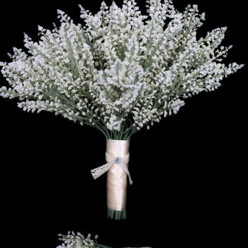 Baby's Breath Wedding Bouquet Collection