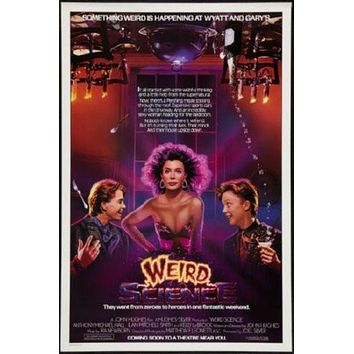 Weird Science Movie poster Metal Sign Wall Art 8in x 12in