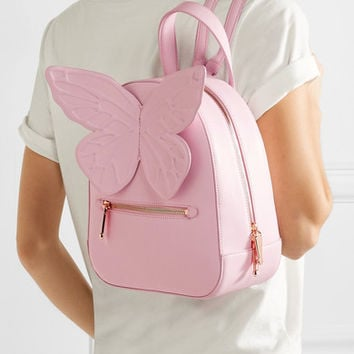 Sophia Webster - Kiko appliquéd leather backpack