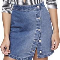 On Point Denim Mini Skirt | David Jones