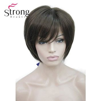 Cute Professional Short Layered Wig With Bangs