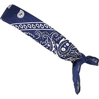 River Island Boys navy printed bandana