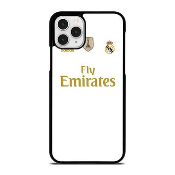 REAL MADRID HOME JERSEY iPhone 11 Pro Case