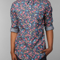 Salt Valley Smoky Floral Western Shirt