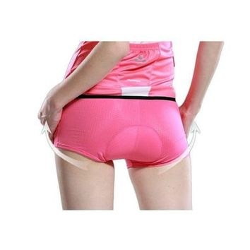 Women Cycling Underwear Pink Underpant