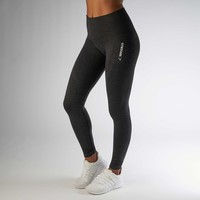 Gymshark High Waisted Seamless Legging - Black Marl