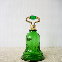 Mothersday Gift Idea Vintage Avon Perfume Forest Green