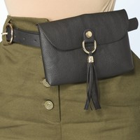 On The Go Fanny Pack - Black