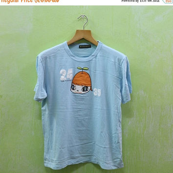 15% SALES Vintage 90s 24Hour Television Animation Japanese Cartoon Punk Tee T shirt