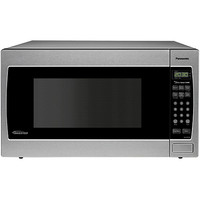 Walmart: Panasonic 1.2 cu ft Inverter Microwave, Stainless Steel, Refurbished