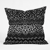 Kris Tate Wavves Throw Pillow