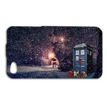 Dr Who Doctor WHO Tar Dis Christmas Snow Winter Scene Case iPhone 4 4s 5 5c 5s 6