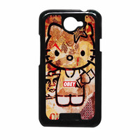 Obey Hello Kitty HTC One X Case
