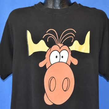 90s Bullwinkle Taco Bell t-shirt Large