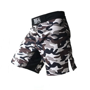 MMA shorts kick boxing muay thai shorts bad boy mma trunks hayabusa shorts muay thai sanda boxe fight wear camouflage mma pants