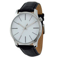 Men's Minimalist  Watch with Long Stripe - Free shipping
