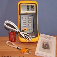 Digital 2 k-type Thermocouple Thermometer Nicety DT804A