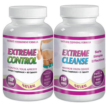 Extreme Cleanse and Control Weight loss Diet System Kit 30 Day Supply
