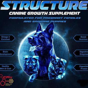 Structure® - Canine Growth Supplement for Puppies and Pregnant Females - 10 Pounds