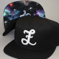 Fully Laced The Final Frontier Monogram Snapback Hat : Karmaloop.com - Global Concrete Culture