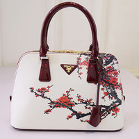 luxury handbags women bags designer bags handbag women famous brand sac a main Small Shell 2016 Plum flower bag dollar price