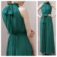 Vintage Halter Long dress