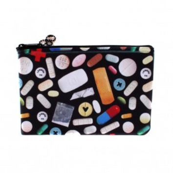 Small Pills Zip Pouch by Jim Spinx - ShopKitson.com