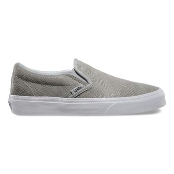 Vans Pebble Snake Slip-On (glacier gray)