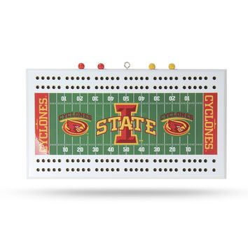 IOWA STATE FIELD CRIBBAGE BOARD