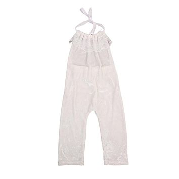 Newborn Infant Baby Girls Lace Romper new arrival fashion Jumpsuit Clothes