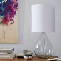 Glass Jug Table Lamp - Clear