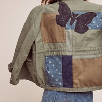 Patched Utility Jacket