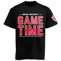 Indiana Hoosiers Game Time T-Shirt - Black/Crimson