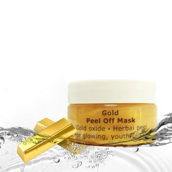 24K Gold Mask Anti Wrinkle Peel Off Mask