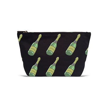 Pouch- Champagne Bottle All Over Pattern