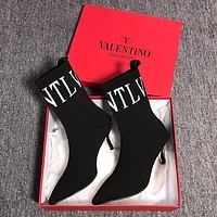 Valentino Knitted wool high heels