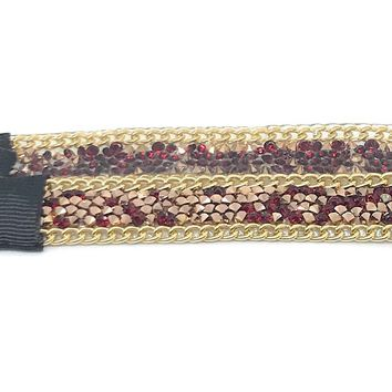 Glitter and Gold Sparkles Holiday Headbands