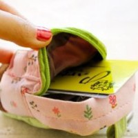 Hot Popular Women Cool Backpack Flower Coin Bag Wallet Hand Pouch Purse
