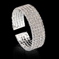 Hot Sale Awesome Gift Shiny Great Deal New Arrival Crystal Roman Korean Stylish Bracelet [11624149652]