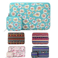 Mosiso Flower 11.6 13.3 15.6 inch Laptop Sleeve Bag Notebook Handbag Cover Case for MacBook Air Pro 11 12 13 14 15 Asus Acer HP