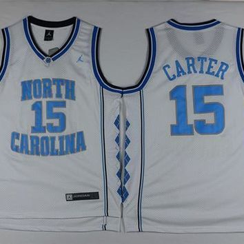 North Carolina #15 Vince Carter Swingman Jersey | Best Online Sale