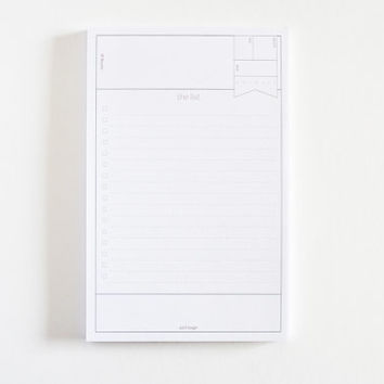 To Do Notepad | Minimalist Daily Planner Notepad with To Do List