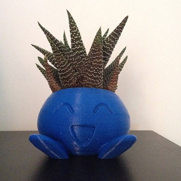 3d Printed Oddish Planter Pokemon
