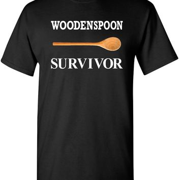 Wooden Spoon Survivor T Shirts | Our T Shirt Shack