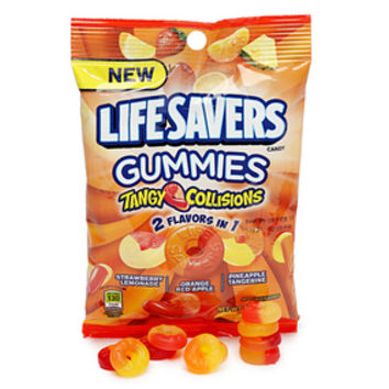 Life Savers Gummies Candy - Tangy Collisions: 5LB Case