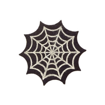 Spiderweb // Iron On Patch